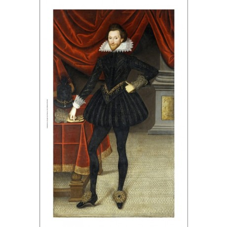 "WILLIAM LARKIN ""James Hay Earl of Carlisle"" new CANVAS! various SIZES, BRAND NEW"