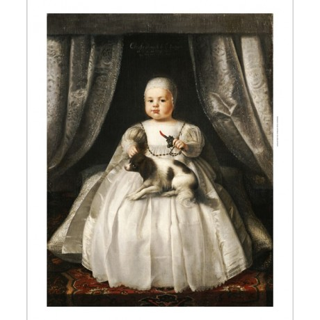 FRENCH SCHOOL King Charles II As Child PRINT CANVAS various SIZES available, NEW