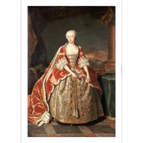 JEAN BAPTISTE VAN LOO Augusta, Princess Of Wales PRINT various SIZES, BRAND NEW