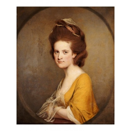 "JOSEPH WRIGHT ""Portrait Of Dorothy Hodges"" print CANVAS various SIZES, BRAND NEW"