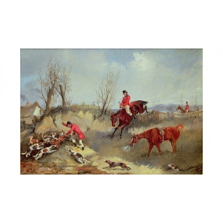 "SAMUEL HENRY ALKEN ""Kill"" Hunt Horse Hound Art Print various SIZES available"