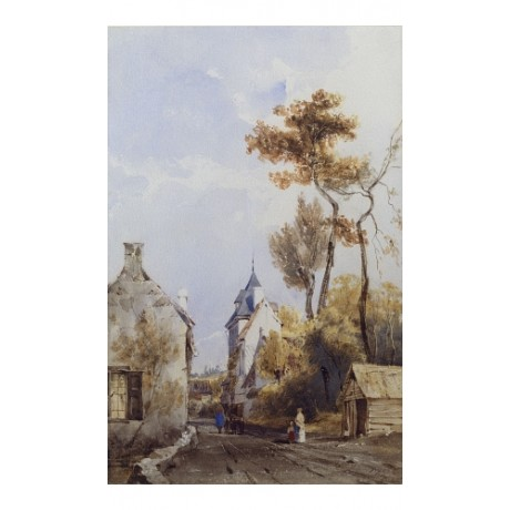 "THOMAS SHOTTER BOYS ""Village Street Waterloo"" CANVAS! various SIZES, BRAND NEW"