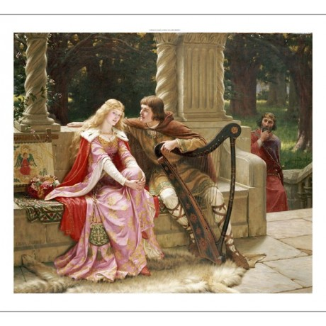 "EDMUND BLAIR LEIGHTON ""End Of Song"" Music ON CANVAS various SIZES available, NEW"