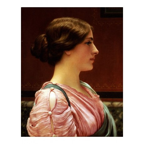 "JOHN WILLIAM GODWARD ""Cleonice"" Classical ON CANVAS various SIZES available, NEW"