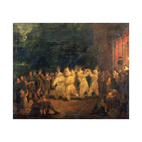 """MARIA SPILSBURY """"Harvest Dance At Rosanna"""" PRINT choose SIZE, from 55cm up, NEW"""