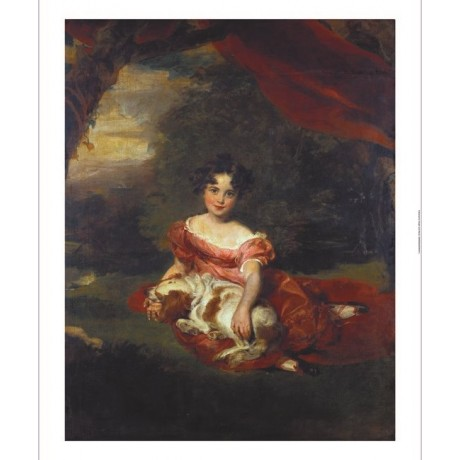 "THOMAS LAWRENCE ""Miss Julia Beatrice Peel"" new CANVAS! various SIZES, BRAND NEW"