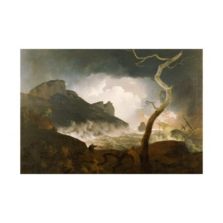 "JOSEPH WRIGHT ""Storm, Antigonus Pursued By Bear"" Print various SIZES, BRAND NEW"