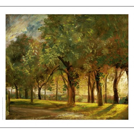 "JOHN CONSTABLE ""Judge's Walk, Hampstead CANVAS ART choose SIZE, from 55cm up"