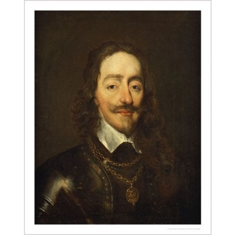 "WILLIAM DOBSON ""Portrait Of King Charles I"" ON CANVAS various SIZES available"