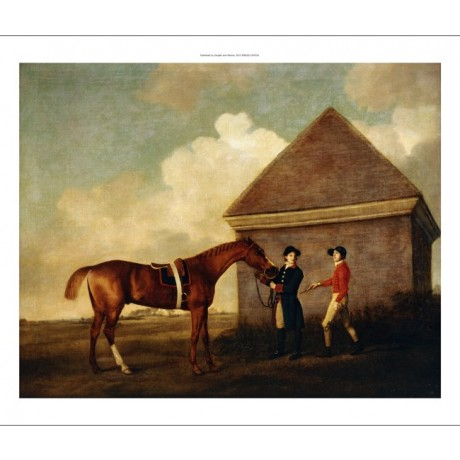 GEORGE STUBBS Eclipse, held by a Groom NEWMARKET racehorse NEW CANVAS PRINT!!!