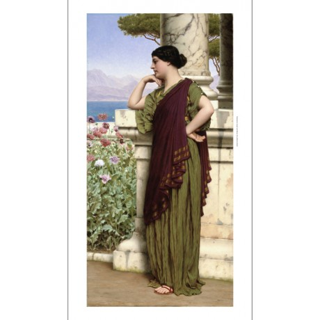 "JOHN WILLIAM GODWARD ""Tender Thoughts"" CANVAS PRINT! various SIZES available"