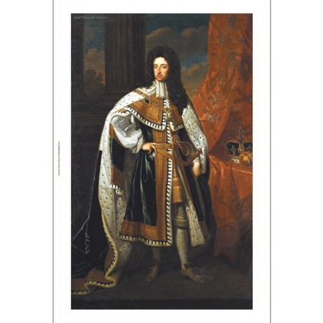 SIR GODFREY KNELLER Portrait King William III PRINT NEW various SIZES available