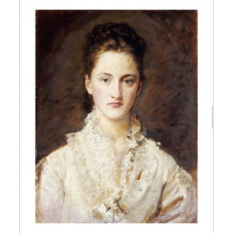SIR JOHN EVERETT MILLAIS Artist's Daughter ON CANVAS various SIZES available