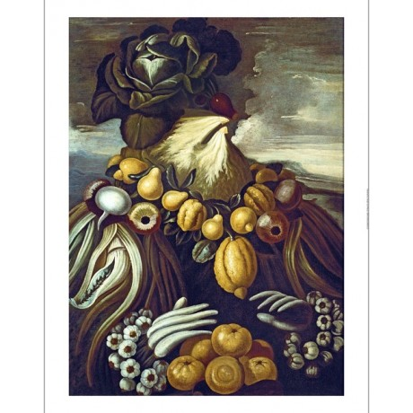"GIUSEPPE ARCIMBOLDO ""Winter"" ANTHROPOMORPHIC on canvas! various SIZES, BRAND NEW"