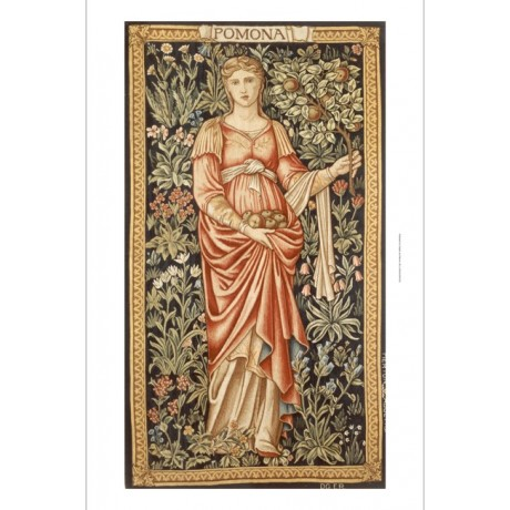"DECORATIVE PRINT ""Edward Coley Burne-Jones tapestry"" various SIZES available"