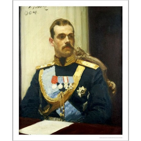 IL'IA EFIMOVICH REPIN Portrait Grand Duke Russian PRINT various SIZES, BRAND NEW