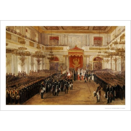 ADOLF IGNATIEVICH LADURNER Winter Palace Military PRINT various SIZES, BRAND NEW