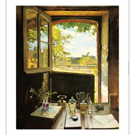 "KONSTANTIN ANDREEVICH SOMOV ""View Through A Window"" various SIZES available, NEW"