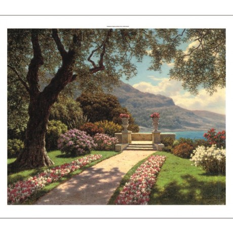 "IVAN FEDOROVICH SHUL'TSE ""Garden with A Sea View"" NEW various SIZES available"