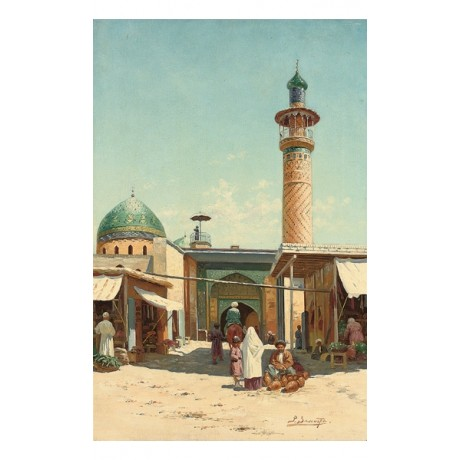 "RICHARD KARLOVICH ZOMMER ""The Market at Samarkand"" choose SIZE, from 55cm up"