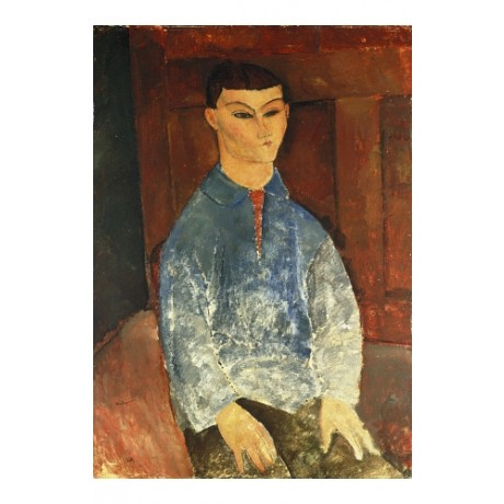 "AMEDEO MODIGLIANI ""Moise Kisling Seduto"" CANVAS PRINT! various SIZES, BRAND NEW"