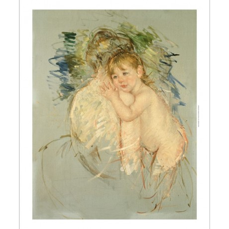 "MARY CASSATT ""A Study For 'Le Dos Nu'"" nude PRINT new various SIZES, BRAND NEW"