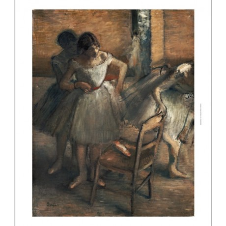 "EDGAR DEGAS ""Dancers"" Girls Art CANVAS EDITION choose SIZE, from 55cm up, NEW"