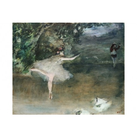 "EDGAR DEGAS ""Les Pointes"" 5000+ PRINTS in our eBay SHOP various SIZES, BRAND NEW"