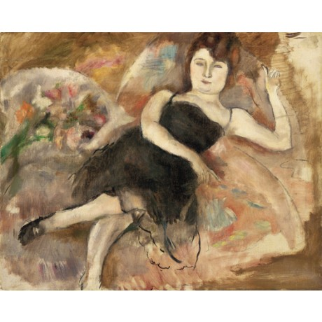 "JULES PASCIN ""La robe du soir"" nightdress WOMAN bed various SIZES available, NEW"