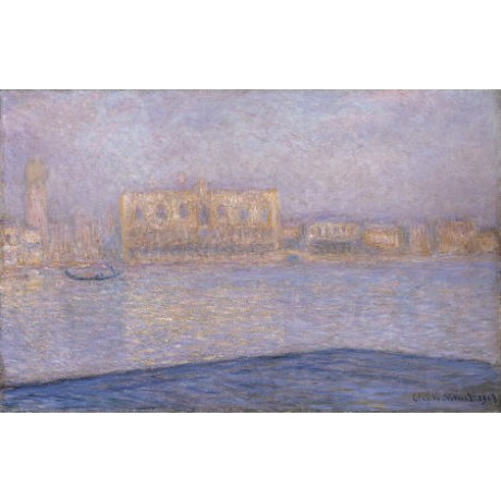 CLAUDE MONET Le Palais Ducal Venice PRINT choose SIZE, from 55cm upwards, NEW