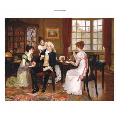 "CHARLES HAIGH WOOD ""Taken By Storm"" Letter ON CANVAS various SIZES available"