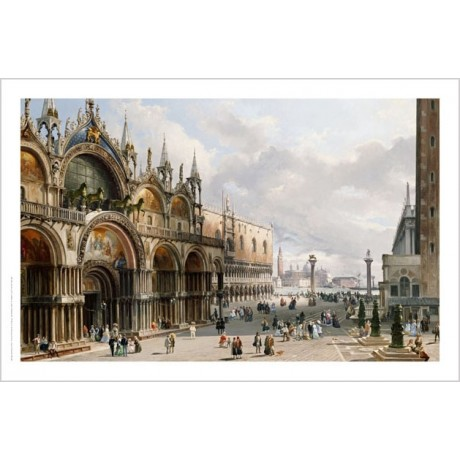 "CARLO GRUBACS ""St. Mark's And Doge's Palace, Venice"" various SIZES available"