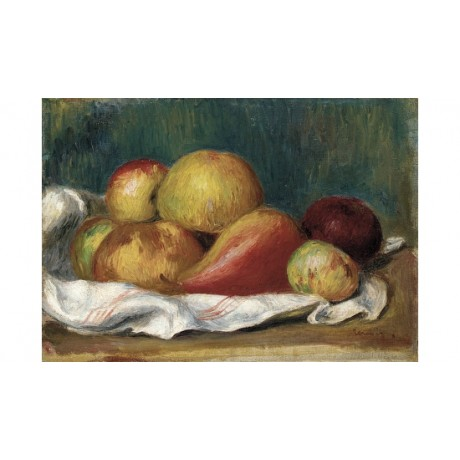 PIERRE-AUGUSTE RENOIR Apples And A Pear Still PRINT various SIZES available, NEW