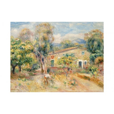 PIERRE AUGUSTE RENOIR Collettes Farmhouse CANVAS ART various SIZES available