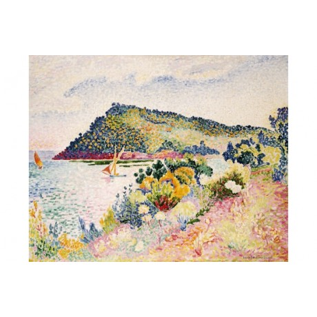 "HENRI-EDMOND CROSS ""Black Cape"" Prrint CANVAS choose your SIZE, 55cm to X LARGE"