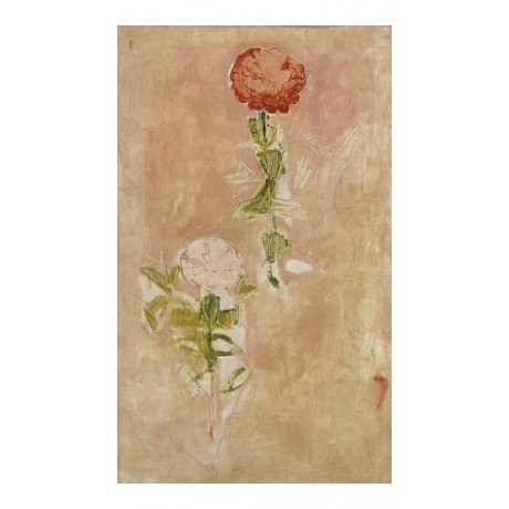 "FERDINAND HODLER ""Zynien, Studie"" FLOWER canvas print! various SIZES, BRAND NEW"