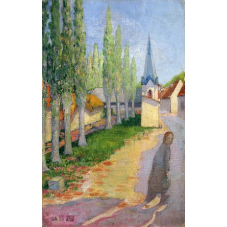 "LUCIEN ROY ""Spring in Franche Comte"" CANVAS ART ! choose SIZE, from 55cm up, NEW"