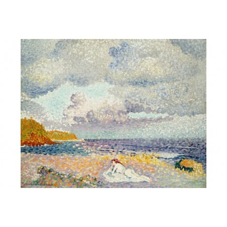 "HENRI EDMOND CROSS ""Before Thunderstorm"" CANVAS ART ! various SIZES, BRAND NEW"
