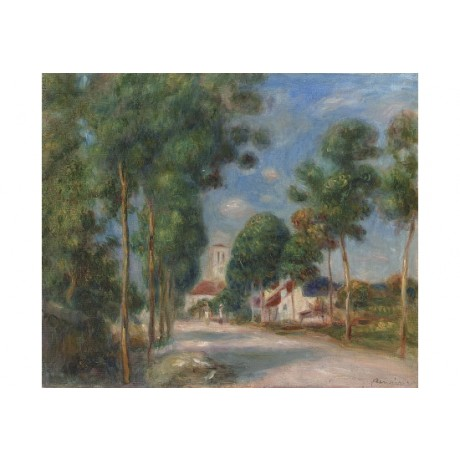 "PIERRE-AUGUSTE RENOIR ""Entree Du Village D'essoyes"" ART various SIZES, BRAND NEW"