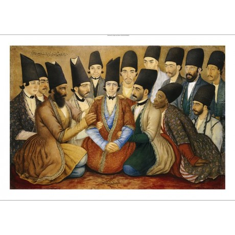 "ABU' L HASAN ""A Young Qajar Prince And His Entourage"" various SIZES, BRAND NEW"