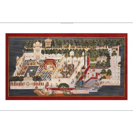 Lake Palace Udaipur CANVAS PRINT, browse our shop! choose SIZE, from 55cm up