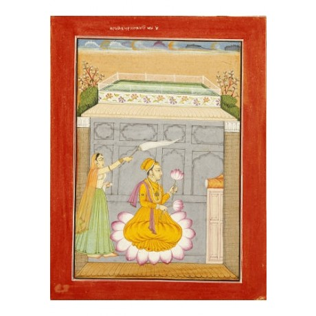 "DECORATIVE CANVAS PRINT ""Putra Of Dipak"" NEW choose SIZE, from 55cm upwards, NEW"