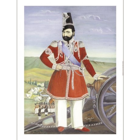 "MUHAMMAD HASAN AFSHAR ""Portrait Of Muhammad Shah"" Print various SIZES, BRAND NEW"
