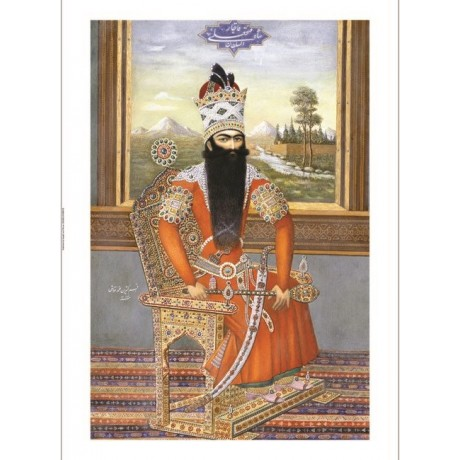 "MUHAMMAD ""Portrait Of Sultan Fath Ali Shah Qajar"" NEW various SIZES, BRAND NEW"