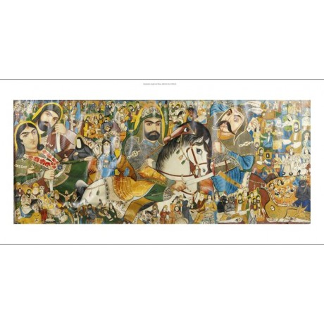 BATTLE Of Kerbala muslim karbala NEW CANVAS PRINT! choose SIZE, from 55cm up