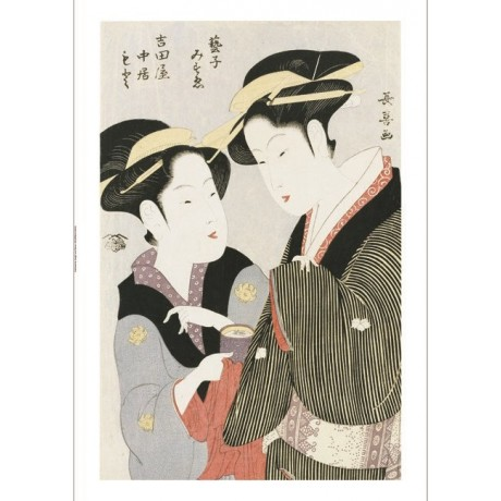EISHOSAI CHOKI Portrait Women Japan PRINT choose SIZE, from 55cm upwards, NEW
