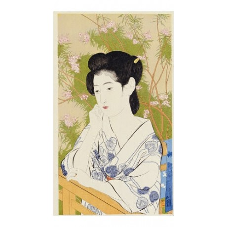 HASHIGUCHI GOYO Portrait Of Young Woman Japan PRINT various SIZES available, NEW