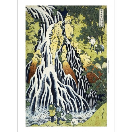 KATSUSHIKA HOKUSAI Kirifuri Waterfall Japan PRINT choose SIZE, from 55cm up, NEW