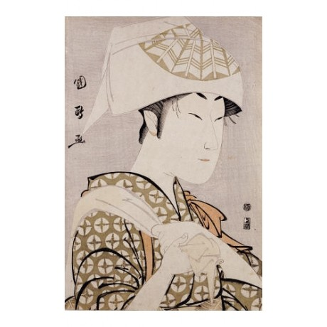 "UTAGAWA KUNIMASA ""Portrait Of Actor Nakamura Noshio II"" various SIZES available"