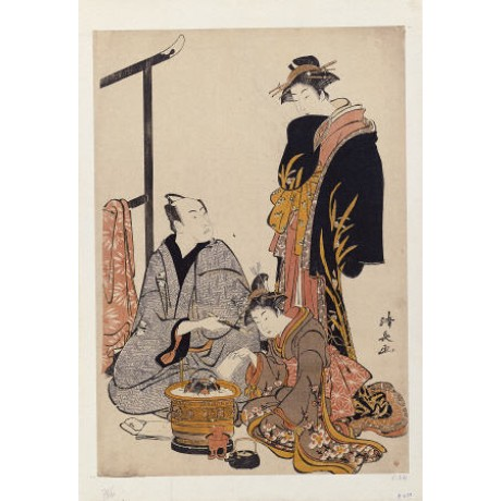 "TORII KIYONAGA ""Actor Matsumoto Koshiro IV"" PRINT choose your SIZE, from 55cm up"